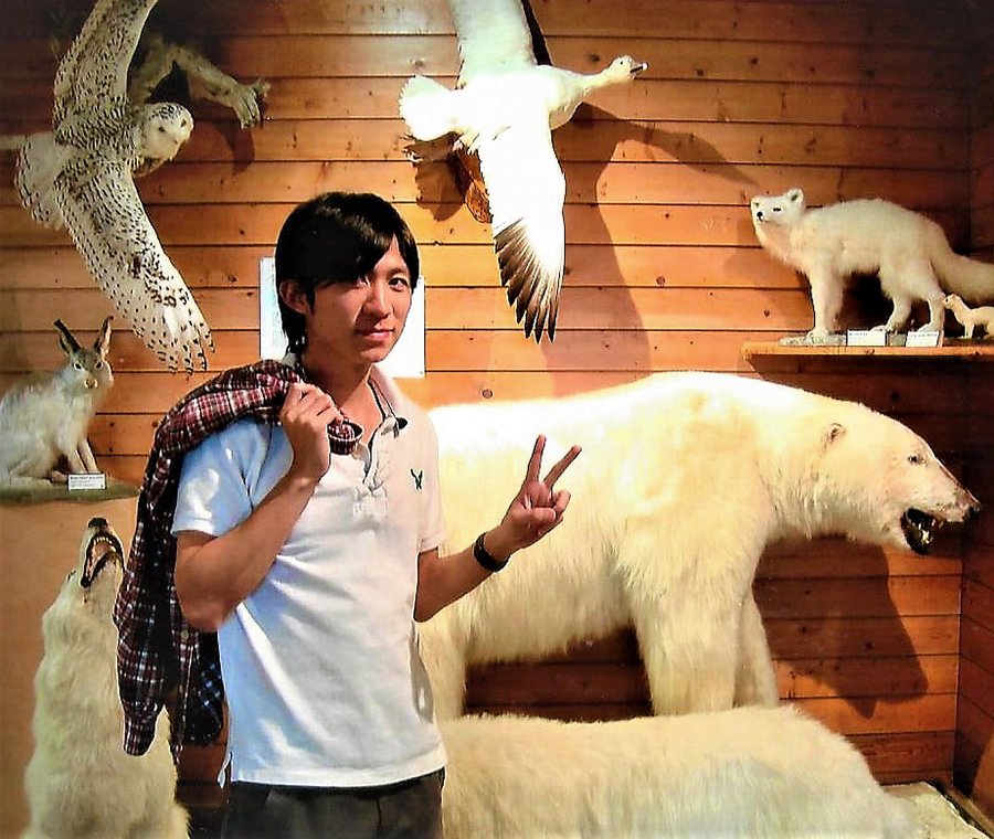 Student at Northern Manitoba Museum